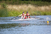 Race: 57  W.MasA/B.2x  Final<br /> <br /> Peterborough Summer Regatta 2018 - Saturday<br /> <br /> To purchase this photo, or to see pricing information for Prints and Downloads, click the blue 'Add to Cart' button at the top-right of the page.