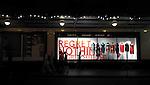 Regret Nothing shop window display in Sydney, NSW, Australia