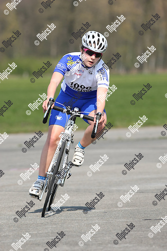 2010-04-15 / Wielrennen / PK Tijdrijden 2010 / Chien Jochems..Foto: mpics