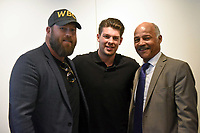 Scott Welch (L), James Branch and John Conteh during the 'I Am Duran' Film Screening at Universal Pictures on 23rd May 2019