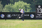 Simon Khan teeing off the 13th on day two of the Celtic Manor wales Open 2010.Picture Fran Caffrey/Newsfile.ie