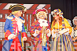 """John McGeever, Hazel Devane and Declan Mangan in a scene from """"Long John Silver"""" Killorglin Pantomime Groups 49th panto, in the CYMS Killorglin on Sunday."""