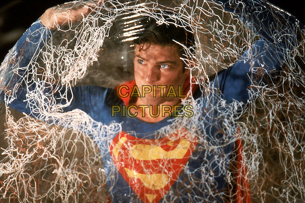 Christopher Reeve<br /> in Superman III (1983) <br /> (Superman 3)<br /> *Filmstill - Editorial Use Only*<br /> CAP/NFS<br /> Image supplied by Capital Pictures