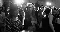 Band Adherents at Autonomous spaces fundraiser, Easton Community Centre, Kilburn Street, Easton, Bristol, Dec 2010 (Black & White Crop)