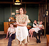No Villain<br /> by Arthur Miller<br /> at Trafalgar Studios, London, Great Britain <br /> press photocall<br /> 17th June 2016 <br /> <br /> George Turvey as Ben <br /> <br /> Nest Crenshaw as Esther<br /> <br /> <br /> <br /> Helen Coles as Maxine<br /> <br /> <br /> David Bromley as Abe<br /> <br /> <br /> <br /> <br /> Photograph by Elliott Franks <br /> Image licensed to Elliott Franks Photography Services