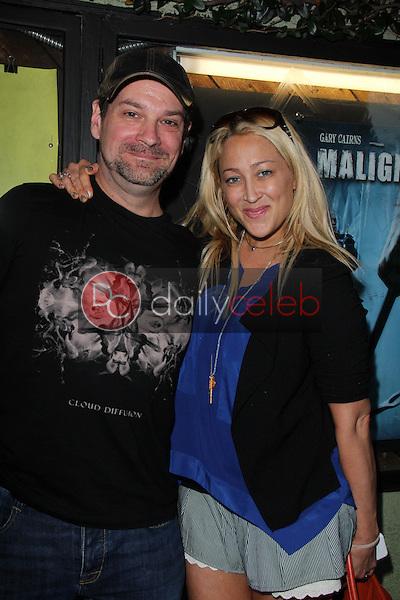 "Brian Avenet-Bradley, Jennifer Blanc<br /> at a screening ""Malignant,"" Silent Movie Theater, Los Angeles, CA 05-28-14<br /> David Edwards/DailyCeleb.com 818-249-4998"