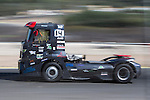 Portuguese driver Jose Ferando Araujo Rodrigues belonging Portuguese team Jose Ferando Araujo Rodrigues during the third race R3 of the XXX Spain GP Camion of the FIA European Truck Racing Championship 2016 in Madrid. October 02, 2016. (ALTERPHOTOS/Rodrigo Jimenez)