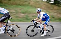 Julian Alaphilippe (FRA/Deceuninck-QuickStep)<br /> <br /> Stage 1: Clermont-Ferrand to Saint-Christo-en-Jarez (218km)<br /> 72st Critérium du Dauphiné 2020 (2.UWT)<br /> <br /> ©kramon