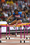 Christina MANNING (USA) in the womens 100m hurdles semi-final. IAAF world athletics championships. London Olympic stadium. Queen Elizabeth Olympic park. Stratford. London. UK. 11/08/2017. ~ MANDATORY CREDIT Garry Bowden/SIPPA - NO UNAUTHORISED USE - +44 7837 394578
