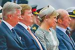 Ceremony of the bicentenary of the Battle of Waterloo. Waterloo, 18 june 2015, Belgium