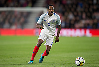 Kyle Walker-Peters (Tottenham Hotspur) of England U21 during the UEFA EURO U-21 First qualifying round International match between England 21 and Latvia U21 at the Goldsands Stadium, Bournemouth, England on 5 September 2017. Photo by Andy Rowland.