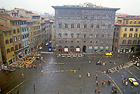 Florence: Piazza Della Signoria from Palazzo Vecchio. Photo '83.