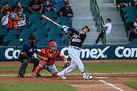 Matthew Skole, durante partido3 de beisbol entre Naranjeros de Hermosillo vs Mayos de Navojoa. Temporada 2016 2017 de la Liga Mexicana del Pacifico.<br /> © Foto: LuisGutierrez/NORTEPHOTO.COM