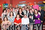 BIRTHDAY: Dave Foley, Clonmore, Tralee (seated on the right) celebrated his 40th birthday with his wife Kay and many.friends and family in The Imperial Hotel last Saturday night.