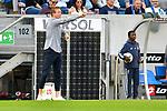 Julian Nagelsmann (Trainer TSG Hoffenheim) beim Spiel in der Fussball Bundesliga, TSG 1899 Hoffenheim - Eintracht Frankfurt.<br /> <br /> Foto © PIX-Sportfotos *** Foto ist honorarpflichtig! *** Auf Anfrage in hoeherer Qualitaet/Aufloesung. Belegexemplar erbeten. Veroeffentlichung ausschliesslich fuer journalistisch-publizistische Zwecke. For editorial use only. DFL regulations prohibit any use of photographs as image sequences and/or quasi-video.