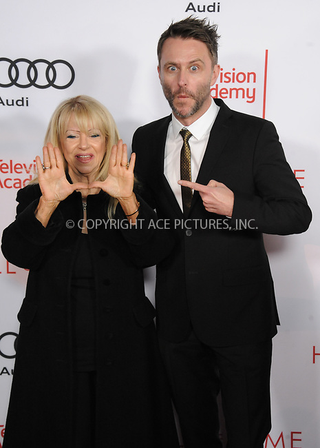 www.acepixs.com<br /> <br /> November 15 2017, LA<br /> <br /> Chris Hardwick and his mother arriving at the Television Academy's 24th Hall of Fame Ceremony at the Saban Media Center on November 15, 2017 in Los Angeles, California.<br /> <br /> By Line: Peter West/ACE Pictures<br /> <br /> <br /> ACE Pictures Inc<br /> Tel: 6467670430<br /> Email: info@acepixs.com<br /> www.acepixs.com