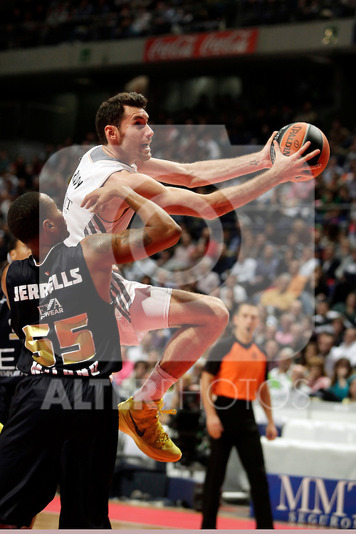 Real Madrid´s Rudy Fernandez  during Euroleague Basketball match. November 01,2013. (ALTERPHOTOS/Victor Blanco)
