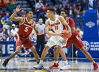 NWA Democrat-Gazette/BEN GOFF @NWABENGOFF<br /> Arkansas vs Florida Thursday, March 14, 2019, during the second round game in the SEC Tournament at Bridgestone Arena in Nashville.