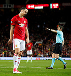 Zlatan Ibrahimovic of Manchester United looks dejected during the UEFA Europa League Quarter Final 2nd Leg match at Old Trafford, Manchester. Picture date: April 20th, 2017. Pic credit should read: Matt McNulty/Sportimage
