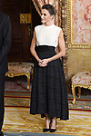 Queen Letizia of Spain receives COP25 participants at the Royal Palace. December 2,2019. (ALTERPHOTOS/Pool/Carlos Alvarez)