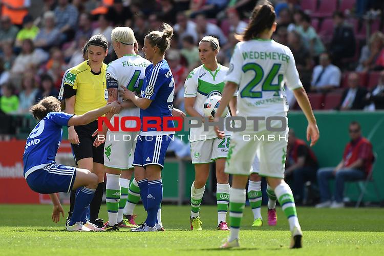21.05.2016, RheinEnergie Stadion, Koeln, GER, DFB Pokal Finale Frauen 2015/2016  SC Sand vs VfL Wolfsburg  <br /> im Bild / picture shows: <br /> <br /> <br /> <br /> <br /> Foto &copy; nordphoto / meuter