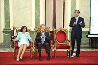 Avances en el logro del 87.59% de las metas presidenciales. Gustavo Montalvo, Presidencia, Danilo Medina, Margarita Cedeño, Vicepresidencia