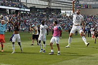 St. Paul, MN - Saturday June 29, 2019: Minnesota United FC played FC Cincinnati in a Major League Soccer (MLS) game at Allianz Field Final score Minnesota United 7, FC Cincinnati 1