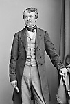 Andrew Curtin (1817-1894) - US lawyer and Republican politician about 1860.