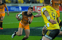 during the Super Rugby match between the Hurricanes and Jaguares at Westpac Stadium in Wellington, New Zealand on Friday, 17 May 2019. Photo: Dave Lintott / lintottphoto.co.nz