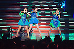 June 23, 2012, Chiba, Japan - Perfume performs on stage during the MTV Video Music Awards Japan event. (Photo by Christopher Jue/AFLO)