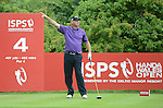 Denmark's Thomas Bjorn in action during todays round<br /> <br /> Golf - Day 2 - ISPS Handa Wales Open 2013 - Twenty Ten Course- Friday 30th August 2013 - Celtic Manor Resort  - Newport<br /> <br /> © www.sportingwales.com- PLEASE CREDIT IAN COOK