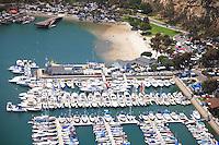Aerial Stock Photo of Dana Point Harbor