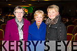 Pictured at the Phil Coulter Concert in association with Westfest at the Devon Inn Hotel, Templeglantine on Friday night was L-R: Maura McCarthy, Lixnaw, Bridie Sweeney, Ardfert and Cora Mullane, Kilmeedy.