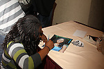 Shenell Edmonds signing at The One Life To Live Lucheon at the Hemsley Hotel in New York City, New York on October 9, 2010. (Photo by Sue Coflin/Max Photos)