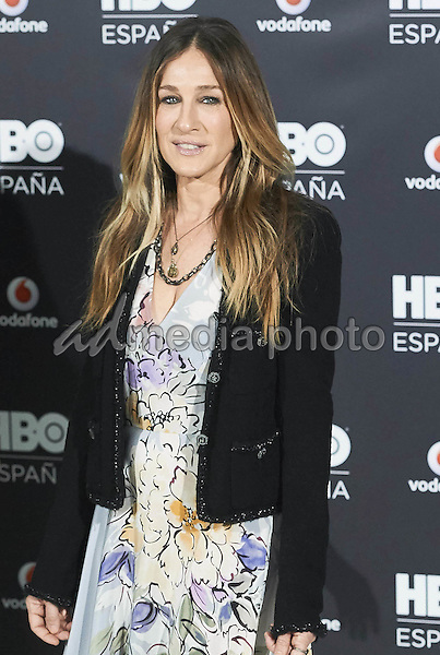 15 December 2016 - Madrid, Spain - Sarah Jessica Parker during the HBO Spain Presentation photocall at URSO Hotel & Spa in Madrid. Photo Credit: PPE/face to face/AdMedia