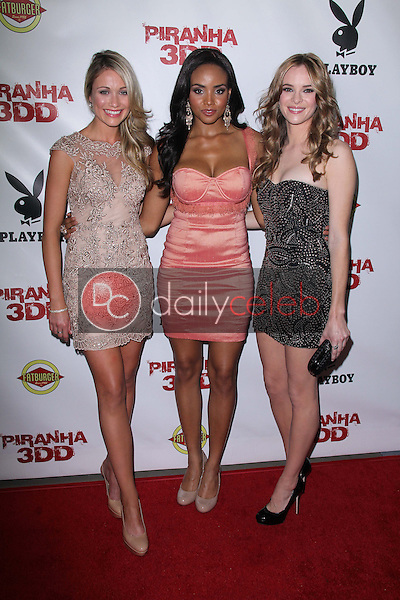 Katrina Bowden, Meagan Tandy, Danielle Panabaker<br />
