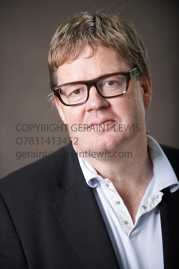 James Runchie, author and writer of Grantchester Mysteries  at The Edinburgh International Book Festival   . Credit Geraint Lewis