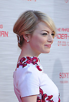 WESTWOOD, CA - JUNE 28: Emma Stone. arrives at the Los Angeles premiere of 'The Amazing Spiderman' at Regency Village Theatre on June 28, 2012 in Westwood, California. /NortePhoto.com<br />