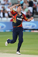 David Masters of Essex shows his frustration - Essex Eagles vs Sussex Sharks - Friends Life T20 Cricket at the Ford County Ground, Chelmsford, Essex - 28/06/12 - MANDATORY CREDIT: Gavin Ellis/TGSPHOTO - Self billing applies where appropriate - 0845 094 6026 - contact@tgsphoto.co.uk - NO UNPAID USE.