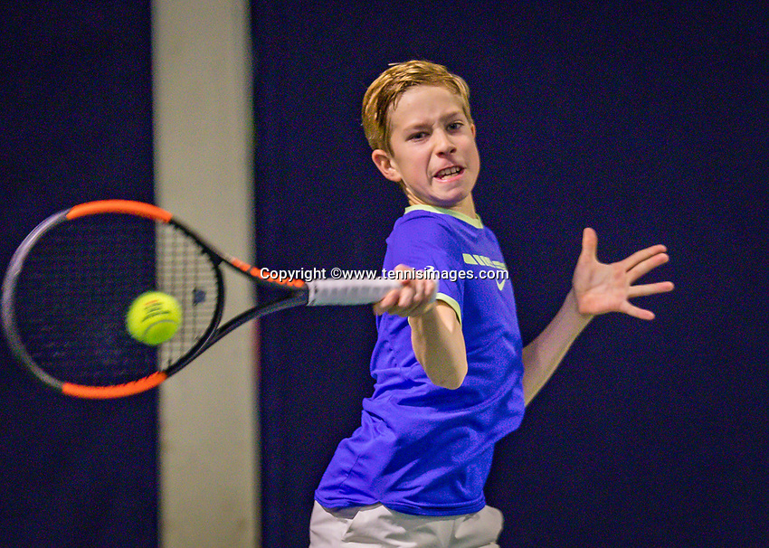 Hilversum, Netherlands, December 2, 2018, Winter Youth Circuit Masters, Thijs Boogaard (NED)<br /> Photo: Tennisimages/Henk Koster