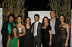 "Francesca Zambello (director), Carly Rose Sonenclar ""Carrie Ingall"", Alessa Neeck ""Mary Ingall"", Kara Lindsay ""Laura Ingall"", Kevin Masse ""Almanzo Wilder"", Melissa Gilbert ""Ma Ingall"", Steve Blanchard ""Pa Ingall"" and his wife Meredith Inglesby ""Eliza Wilder"" and ""Mrs. Brewster"" all star in Little House on the Prairie - The Musical at the Paper Mill Playhouse's 71st Season as it opens with East Coast Premiere on September 20, 2009 in Millburn, New Jersey. (Photo by Sue Coflin/Max Photos)"