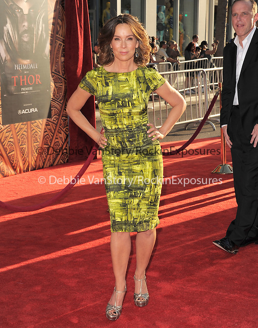 Jennifer Grey  at The Marvel Studios Premiere of THOR held at The El Capitan Theatre in Hollywod, California on May 02,2011                                                                               © 2010 Hollywood Press Agency