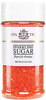 10220 Popsicle Orange Sparkling Sugar, Small Jar 3.5 oz