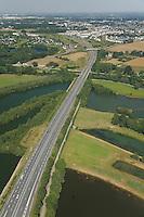 Bruz - Goven - Passage de la D177 sur la Vilaine