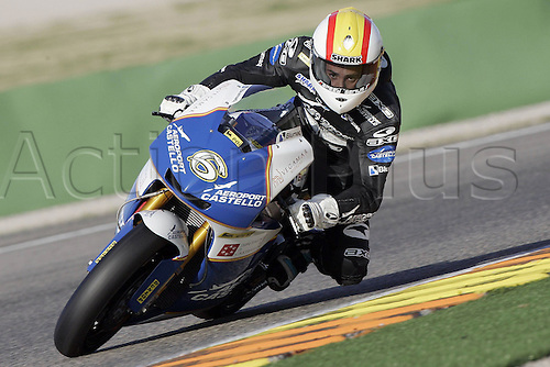 01/03/2010 Ricardo Tormo Circuit Valencia, Alex Debon riding for the  Castello Racing team. Photo: Imago/Actionplus. Editorial Use UK.