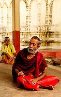 Hindu priest at Kamakhya temple, Assam, India