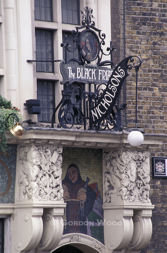 The Black Friar Pub London UK