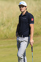Ricardo Gouveia (POR) on the 2nd green during Friday's Round 2 of the 2018 Dubai Duty Free Irish Open, held at Ballyliffin Golf Club, Ireland. 6th July 2018.<br /> Picture: Eoin Clarke | Golffile<br /> <br /> <br /> All photos usage must carry mandatory copyright credit (&copy; Golffile | Eoin Clarke)