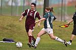 Pukekhohe AFC Womens 2nd team vs Onehunga football game, played at Bledisloe Park, Pukekohe on Sunday April 27th, 2008..Pukekohe won 1 - 0.