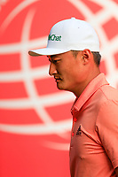 Haotong Li (CHN) during the pro-am at the WGC HSBC Champions, Sheshan Golf Club, Shanghai, China. 30/10/2019.<br /> Picture Fran Caffrey / Golffile.ie<br /> <br /> All photo usage must carry mandatory copyright credit (© Golffile | Fran Caffrey)